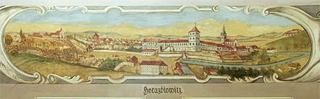 A vedute of Horažďovice