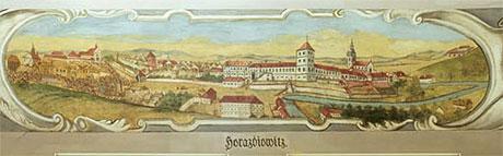 Randquarz, Horažďovice
