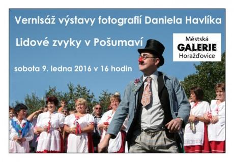 Vernisáž výstavy fotografií Daniela Havlíka